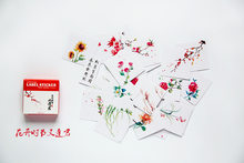 40 Pcs/box Cute Cartoon flower Stickers Scrapbooking Kawaii Sticker Decoration Diary DIY Japanese girl Sticky Paper Stationery(China)