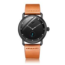 2019 ONOLA haut marque en cuir hommes montres horloge mode sport simple décontracté étanche montre-bracelet hommes relogio masculino(China)