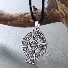 CHENGXUN słowiański Perun Axe wisiorek mężczyzna naszyjnik Viking Axe Celtic Amulet Nordic talizman biżuteria Gothic Retro Pagan wisiorek(China)