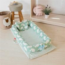 المحمولة القطن الطفل تحمل المهد السفر سرير أضعاف السرير Co-نائمة للإزالة نائمة عش تفكيك آلة غسل مهد سلة موسى(China)