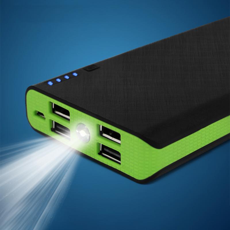 Портативный внешний аккумулятор зарядное устройство чехол светодиодный фонарик aeProduct.getSubject()