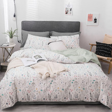 Yimeis Bed Linen Cotton Simple Twin Kids Bedding Set Soft And Comfortable Super King Size Bedding Set(China)