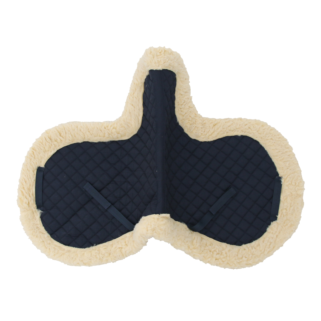 English Horse Saddle Pad All Purpose Comfortable Soft Winter Outdoor Horse Riding Equestrian Supplies
