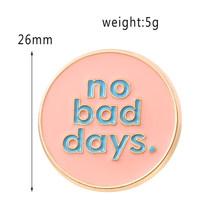 Fairy Pink Bros Enamel Tengkorak Pin Bros Prasasti Langka Tidak Bisa Menyentuh Ini Lapel Pin Bulat Lencana Perhiasan untuk Anak Perempuan(China)
