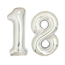 2 pçs 30/40 polegada rosa balões da folha de ouro adulto 30th aniversário festa 16 18 20 25 60 dígitos ouro prata decoração globos(China)