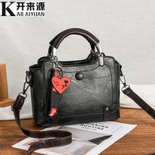 100% hakiki deri kadın çanta 2019 yeni lüks bayan el çantaları çanta cep kadın askılı çanta büyük Tote Sac Bols(China)