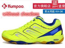 2019 yeni Kumpoo profesyonel Badminton ayakkabı büyük boy yetişkin erkekler ve kadınlar için çocuklar süper hafif kaymaz spor ayakkabı L2146SPA(China)
