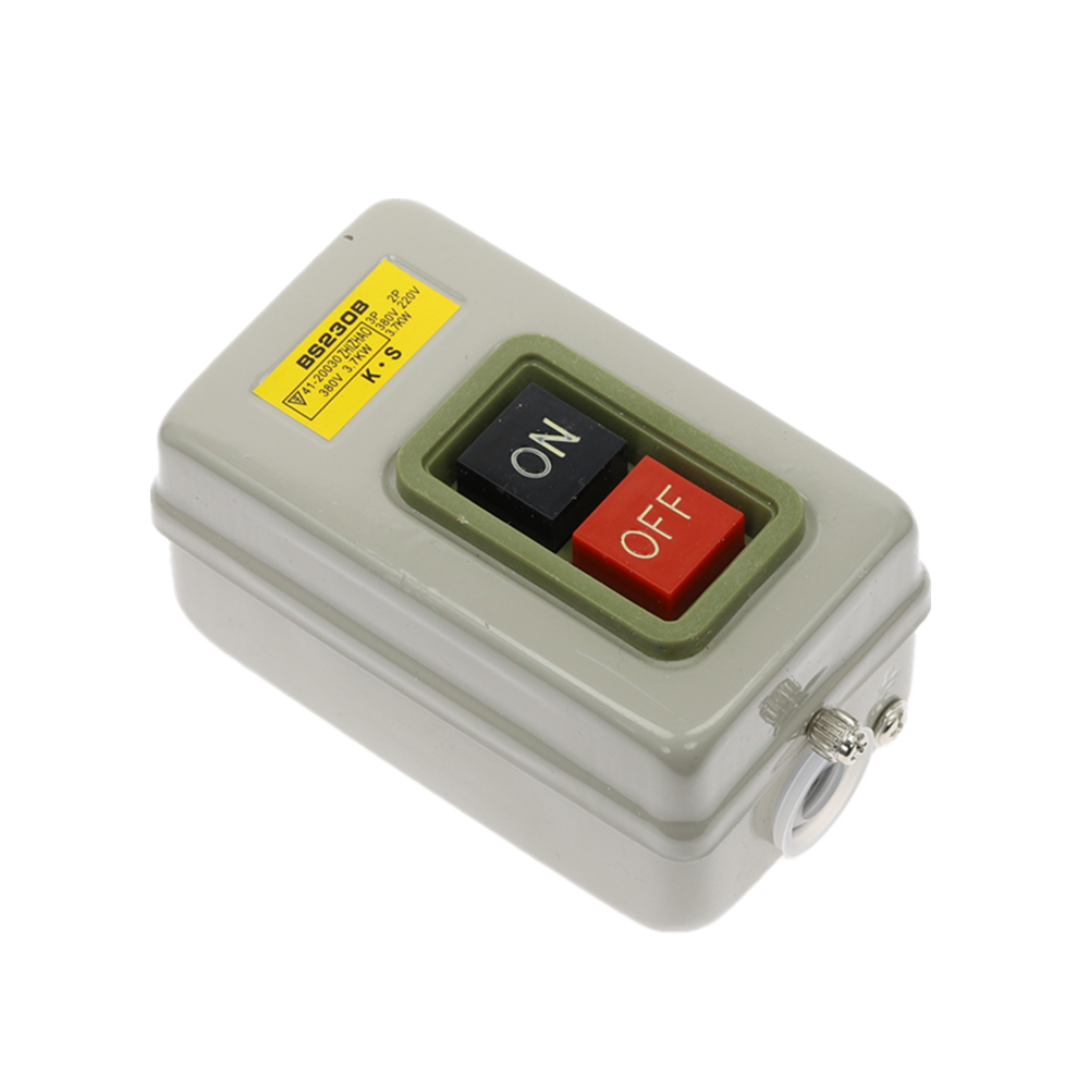 LC3-5 ON//OFF  Latching Push Button Switch 2-Position 3 Poles 380V 220V