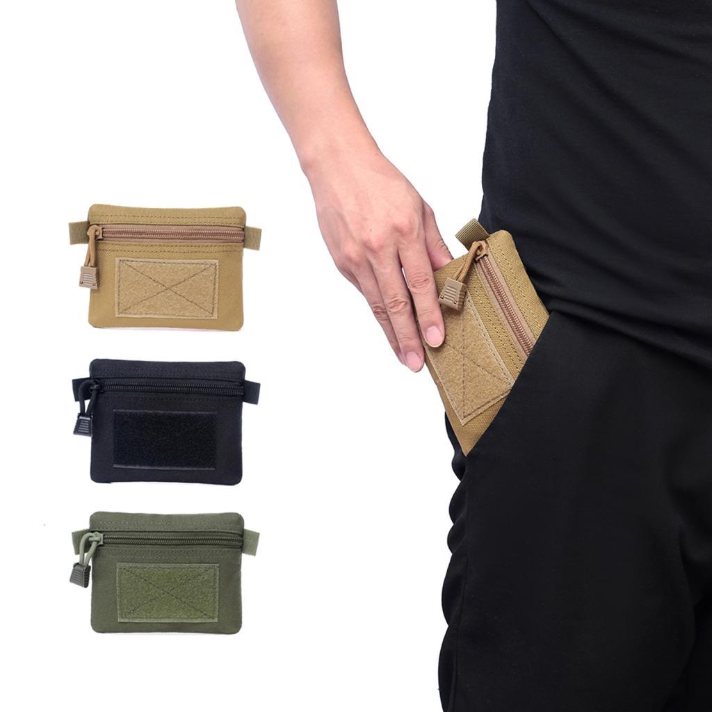 Tactical Wallet Key Pouch Molle Gadget Pouch Accessory Bag