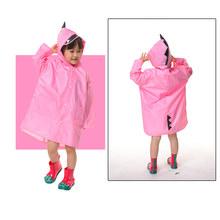 VILEAD/детский плащ из полиэстера с милым динозавром; водонепроницаемый плащ-дождевик для улицы; непромокаемое пальто для детей; непроницаемо...(China)