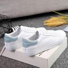 2019 Nieuwe Wiggen Witte Schoenen Vrouwelijke Platform Sneakers Vrouwen Tenis Feminino Casual Vrouw Zomer Zapatos De Mujer Canvas(China)