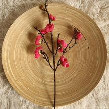 3 шт. зимние милые искусственные цветочные растения бонсай Свадебные украшения Ins ветряные растения стены дома китайские Lamei(Китай)