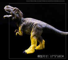 Nova qualidade premium macio ação & brinquedo figuras jurássico tiranossauro dragão dinossauro brinquedos coleção modelo animal coleção modelo(China)