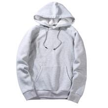 Dihope 크기 패션 다채로운 후드 남자의 두꺼운 옷 겨울 스웨터 남자 힙합 streetwear 솔리드 양털 남자 hoody(China)