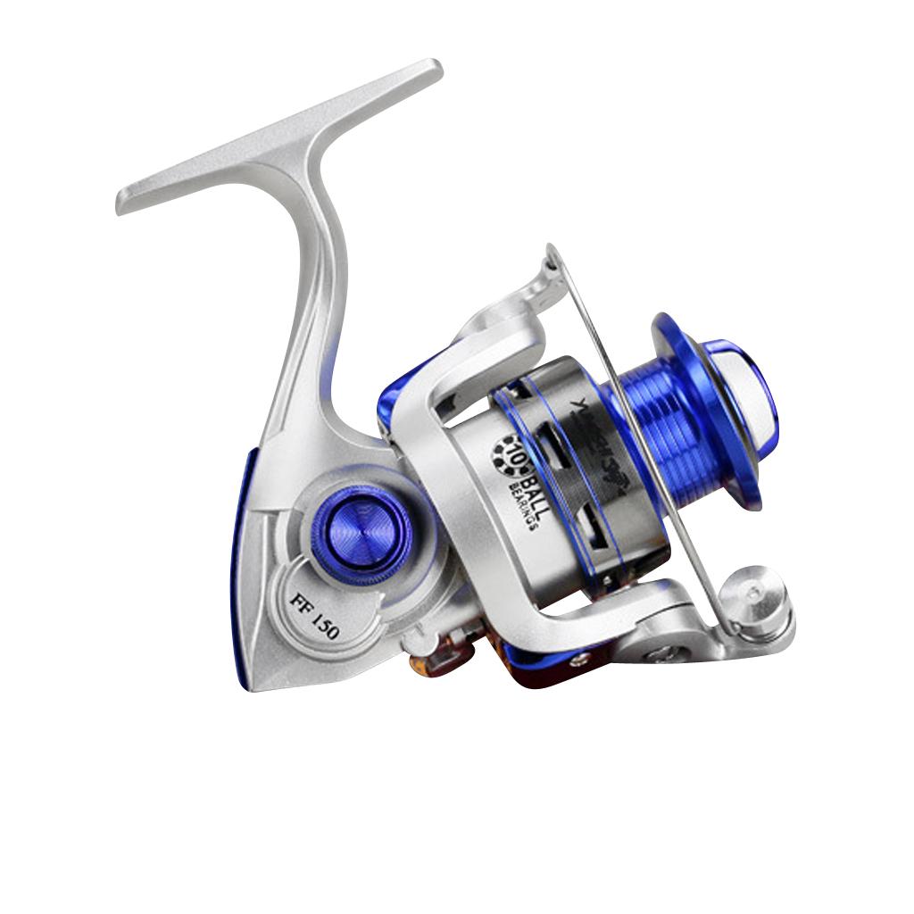Sealed Spinning Reel FF150 Ultra Smooth 10BB Metal Fishing Reels Spin Reels