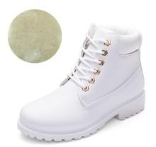 Fujin Mùa Đông Giày Nữ Giày Nữ 2019 Lông Ấm Áp Sang Trọng Sneakers Nữ Ủng Mùa Đông Giày Người Phụ Nữ Botas Mujer Nữ Mắt Cá Chân giày(China)