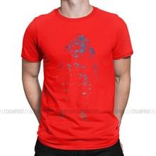 Mass Effect Garrus Raum Gradient Männer T Shirt Shepard Kommandant Bioware Wrex Raum Mordin Spiel T Kurzarm T-Shirts Baumwolle(China)