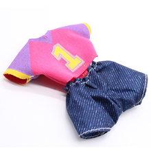 15 centímetros Colorido Cabelo Meninas Vestir Bonecas 13 Conjunta BJD Boneca de Brinquedo com 3D Olho LOL Boneca Playmate Crianças brinquedo Do Bebê do Presente de aniversário para a Menina(China)