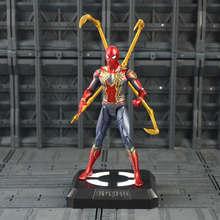 Brinquedo Figura de Ação da Marvel The Avengers Homem De Ferro Máquina de Guerra Hulk Thor Homem Aranha Capitão América Black Panther Modelo Falcon brinquedos(China)