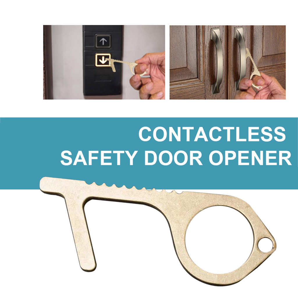 Contactless Door Opener Key Safe Safety Protection NO TOUCH Key Opener Kits USA