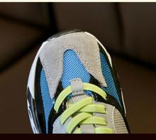 אביב 2019 בני בנות גומייה אופנה סניקרס פעוט/קטן/גדול ילד ספורט בית ספר מאמני ילדים מקרית מותג נעליים(China)