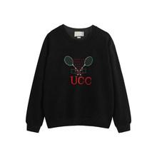 2020 봄 가을 패션 여성 Unisex 스웨터 고품질 여성 남성 후드 테리 코 튼 문자 인쇄 소녀 소년 점퍼(China)