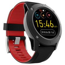 Reloj inteligente R911 para hombres, Monitor de ritmo cardíaco, GPS, rastreador de Fitness, brújula, presión atmosférica, Monitor de temperatura, reloj inteligente(China)