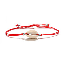 Shell Anklets for Women shell Foot Jewelry Summer Beach Barefoot Bracelet ankle on leg Ankle strap Bohemian Accessories(China)