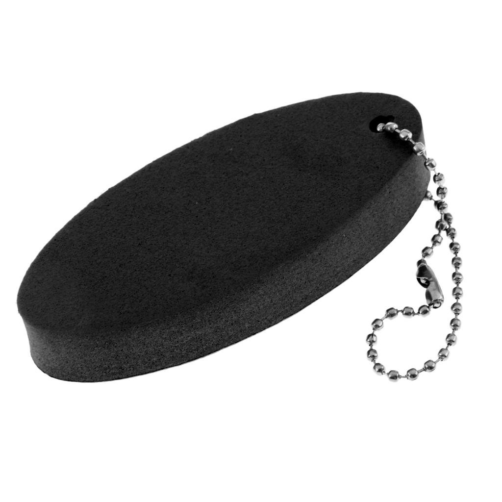 Oval Shaped EVA Foam Floating Key Ring Beads Boat Keychain