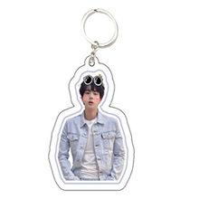 KPOP Bangtan Keychain אהבה עצמך מדמיע אלבום שרשרות Keyring אביזרי אקריליק מפתח טבעת תכשיטי מתנה עבור אוהדי נשים גברים(China)