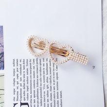 Hairwear For Women Pearl Star Children Hair Accessories Girl Fashion Gift Crown Heart Bow Charm Hairpin Barrette New(China)