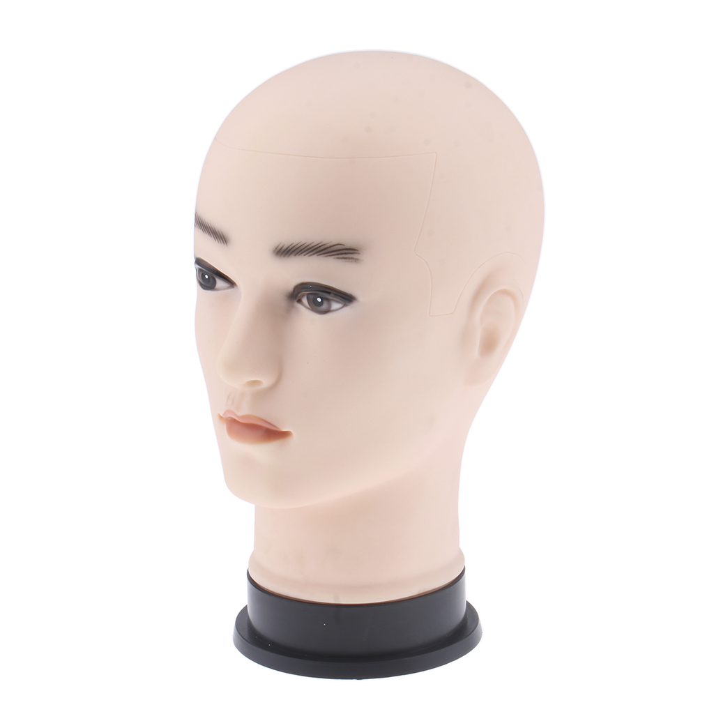 Practice Training Head, Cosmetology Mannequin Head Realistic Doll Face for Face Painting Massage Training Practice