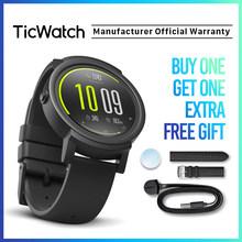 Reloj electrónico negro inteligente Bluetooth reloj inteligente GPS Android y iOS compatible Google Wear OS IP67 impermeable Mob(China)