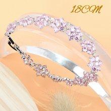 งานแต่งงานเงิน 925 ชุดเจ้าสาวเครื่องประดับชุดสีชมพู Zirconia แหวนต่างหูจี้สร้อยข้อมือสร้อยคอชุด...(Hong Kong,China)