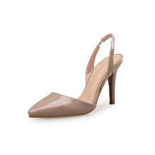 Женские туфли-лодочки; Женская обувь на высоком каблуке; Цветные женские туфли из искусственной кожи на шнуровке; Брендовые модельные туфли...(China)