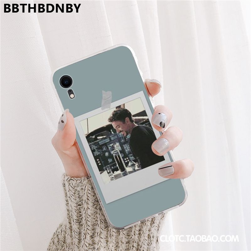 Robert Downey Jr For iphone X or XS Pochette