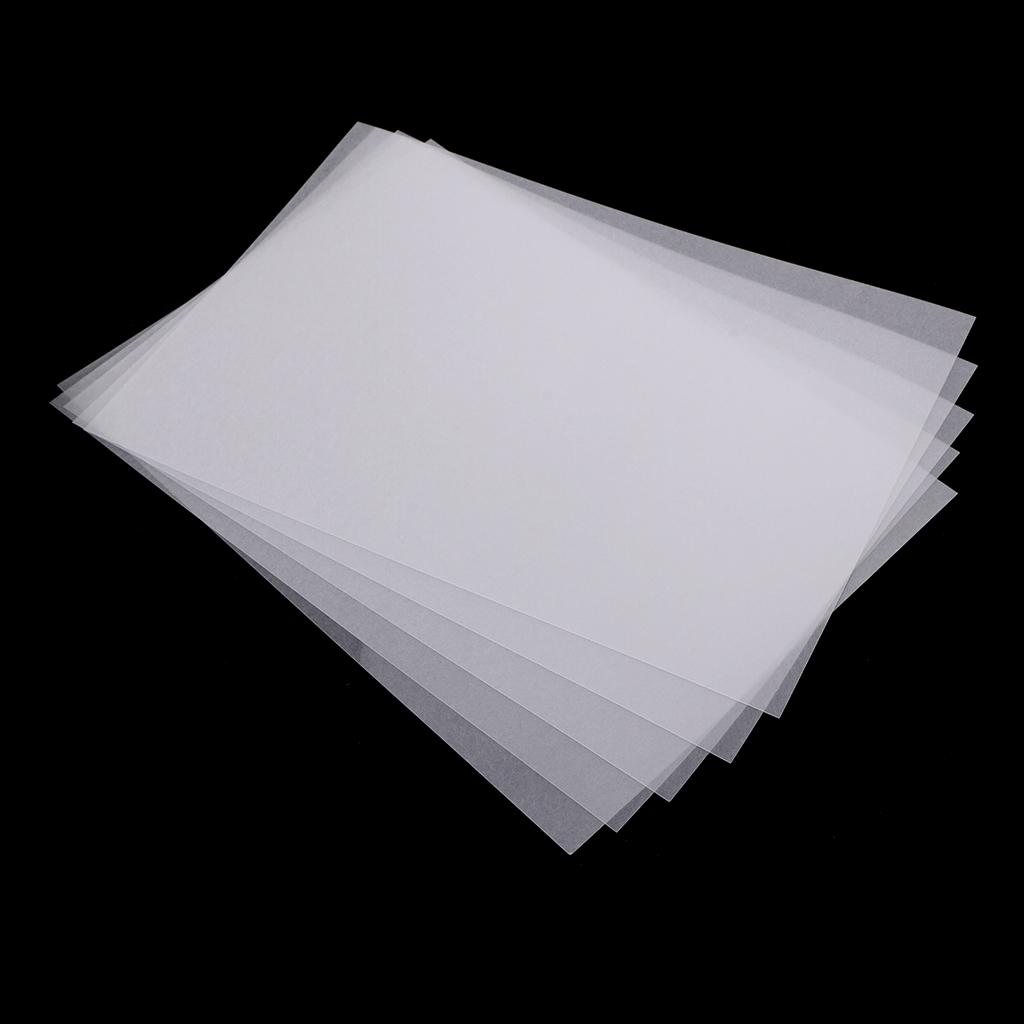 5x Heat Shrinkable Shrink Paper Film Sheets For DIY Kids Crafts Xmas Decors