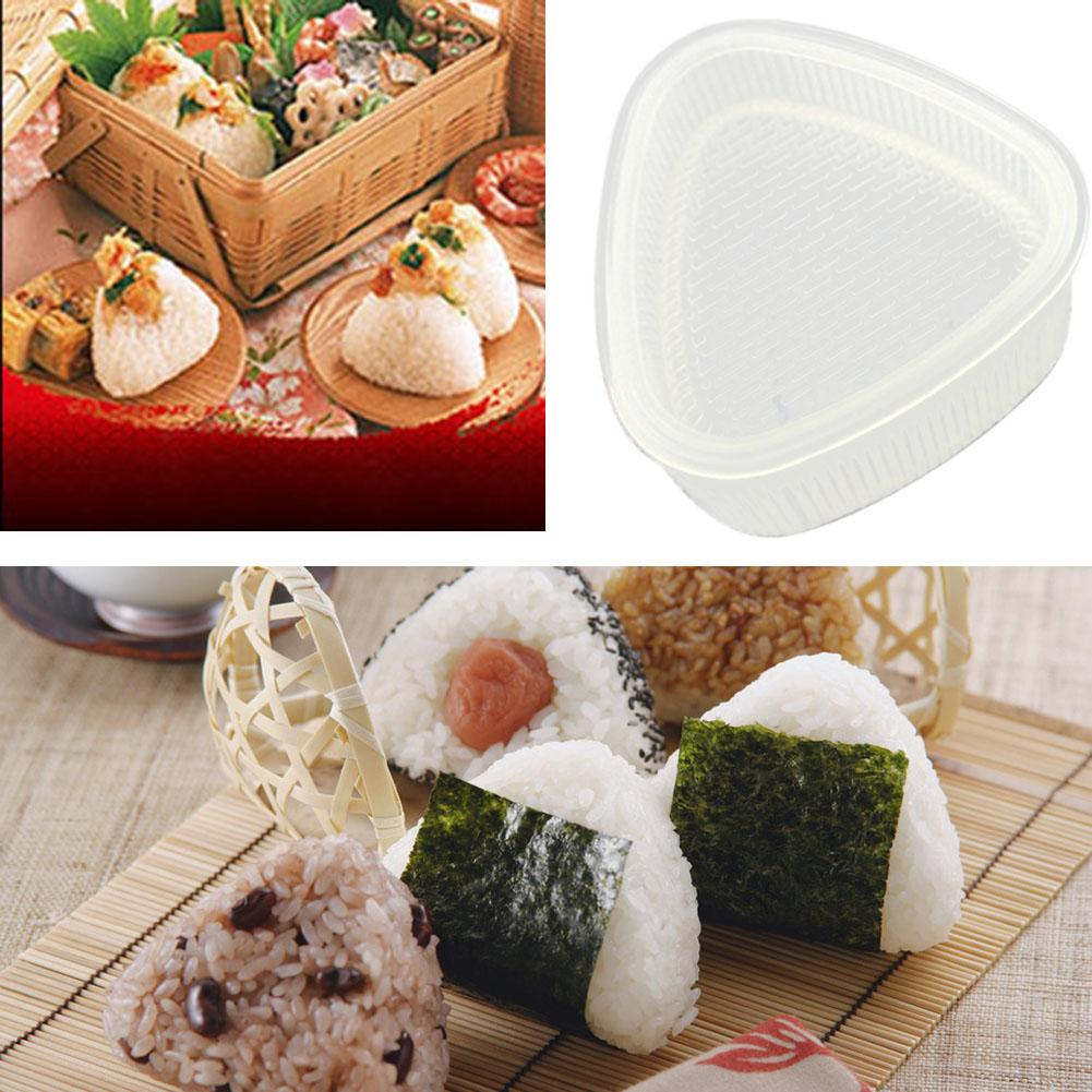 Japan Sushi Mold Rice Ball 5 Rolls Maker Non Stick Press Bento MADE IN JAPAN