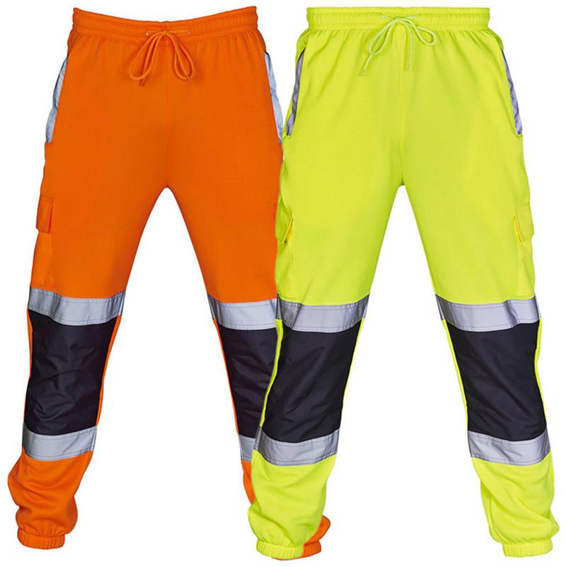 Hi Viz Vis Bottoms Elasticated High Visibility Shorts High Visibility Work Pants