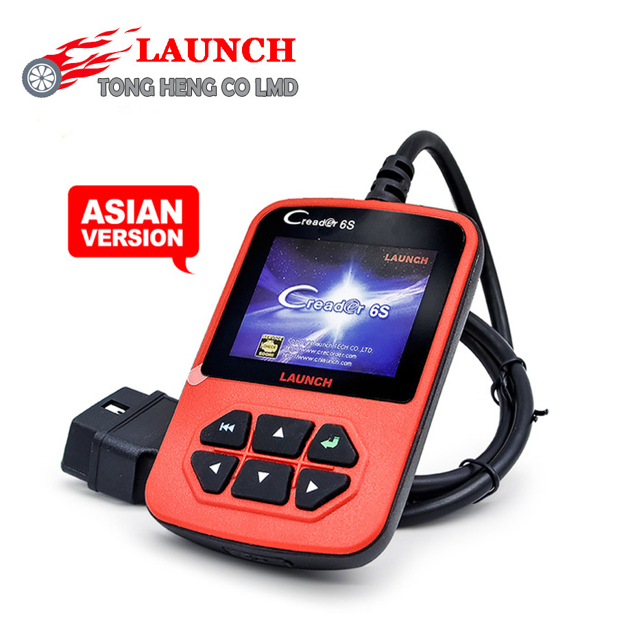 2016 DHL FREE Original Launch X431 CReader 6S Code Reader Update On Official Website Launch CReader VI Plus(China (Mainland))
