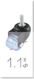 UXCELL 4 Pcs 15Mm Dia Fit Ball Metal Transfer Bearings Unit Conveyor Roller