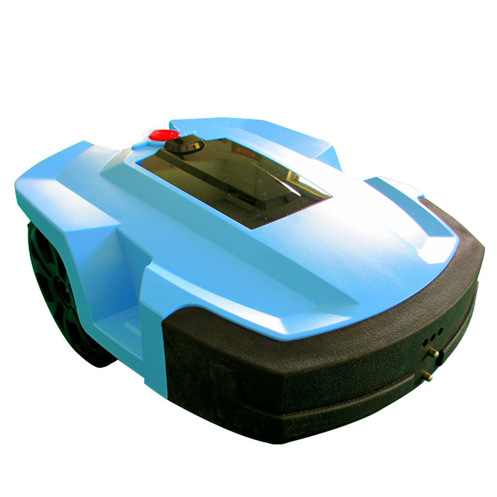 PAKWANG Robot Lawn mower with 2 independent 8Ah Lithium battery, 4 blades, wireless remote control field mower robotic mower(China (Mainland))