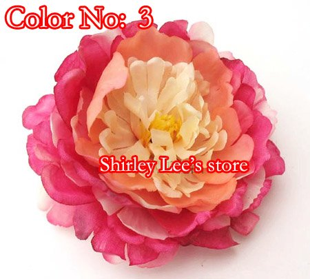 Wholesale Special Offer 72 X Big Silk Flower Head11cm For Hat