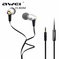 Awei ES800M 3 5mm In ear Earphones Super Clear Bass Metal Noise Isolating Earbud for MP3