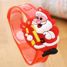 Creative Chrismas Gift Children Adult Luminescent Bracelet LED Luminous Flash Wrist Band Light-emitting kids Christmas Gift(China (Mainland))
