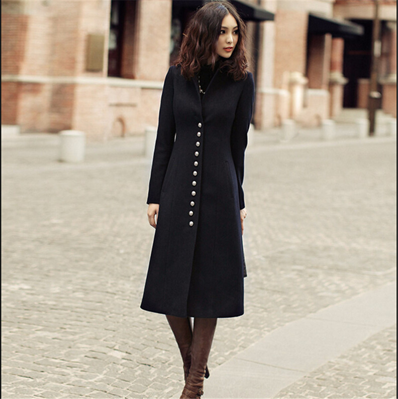 Compare Prices on Women Wool and Cashmere Coat- Online Shopping