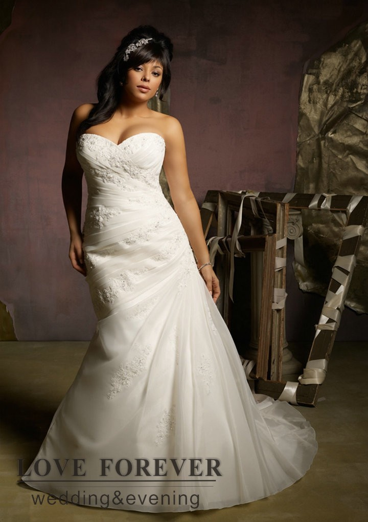Ivory Wedding Dresses With Sleeves Plus Size Wedding Dress Plus Size