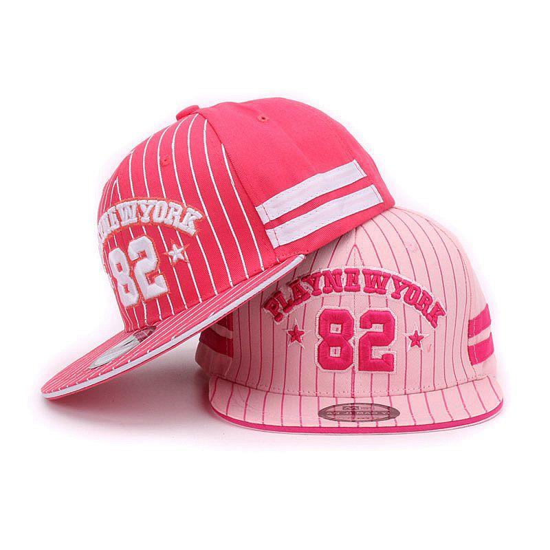 Kids baseball cap Play New York 82 Gorras Children Snapback Hip Hop Caps baby Summer Casual Adjustable Flat sun Hat For Girl(China (Mainland))