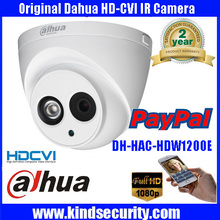 Free shipping Dahua HD 2.0 MP 1080P Dome security Surveillance CCTV CVI Camera IR night indoor Camera P2P phone view