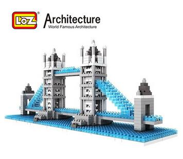 Kids Educational Toys Cubic Fun 3D Puzzle London Bridge Model DIY Puzzle Children Toys Birthday Gifts(China (Mainland))